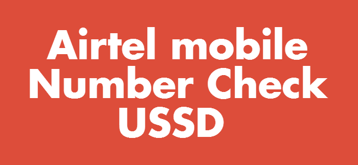 Airtel Number Check Codes
