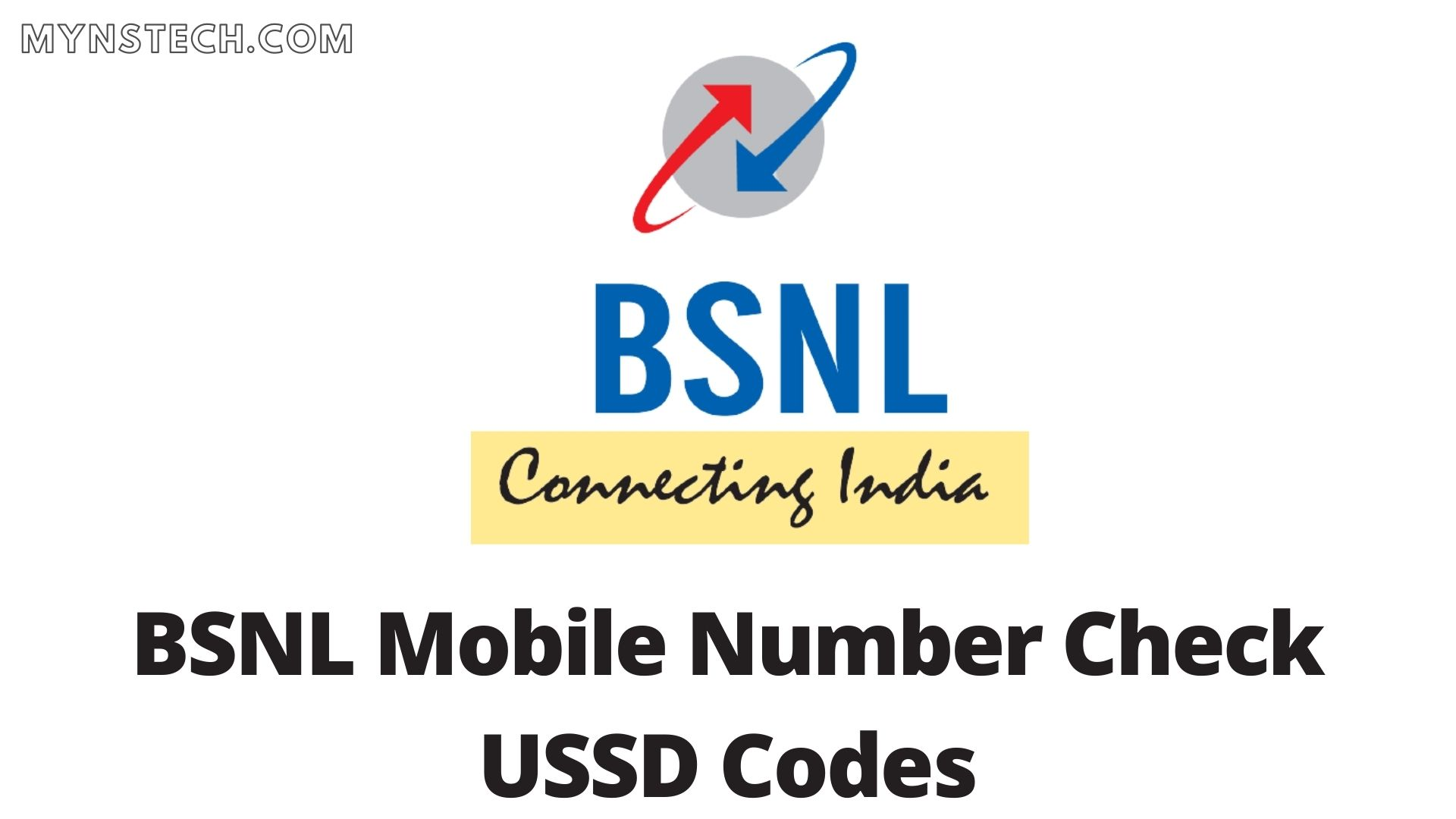 BSNL Mobile Number Check Code