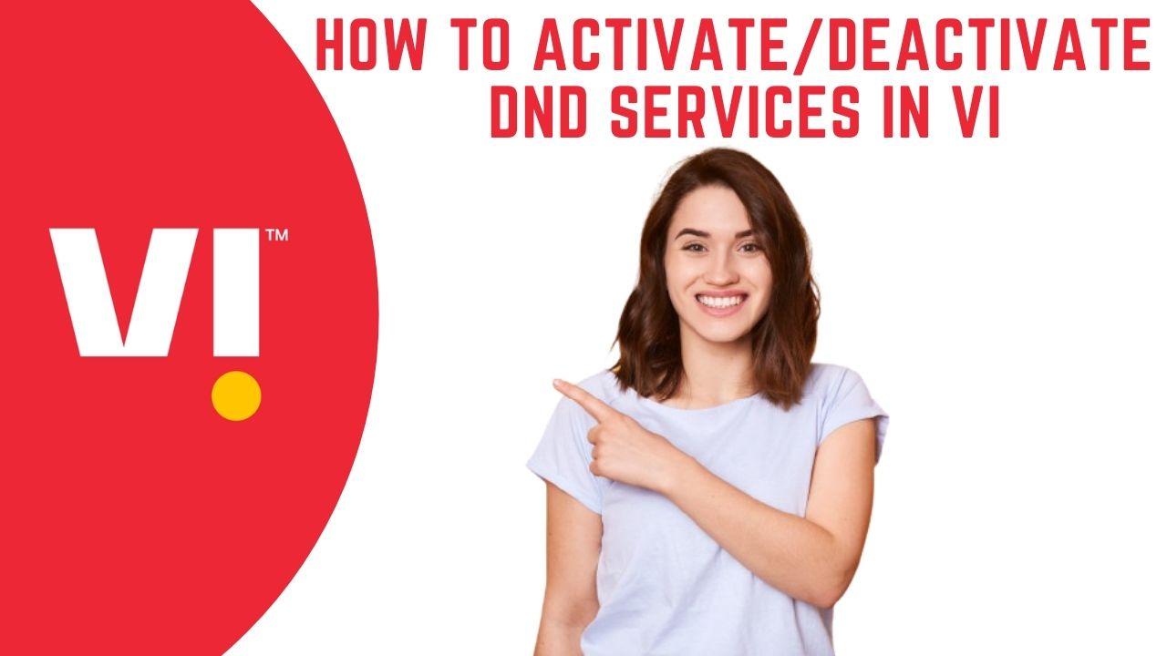Activate/Deactivate DND Services