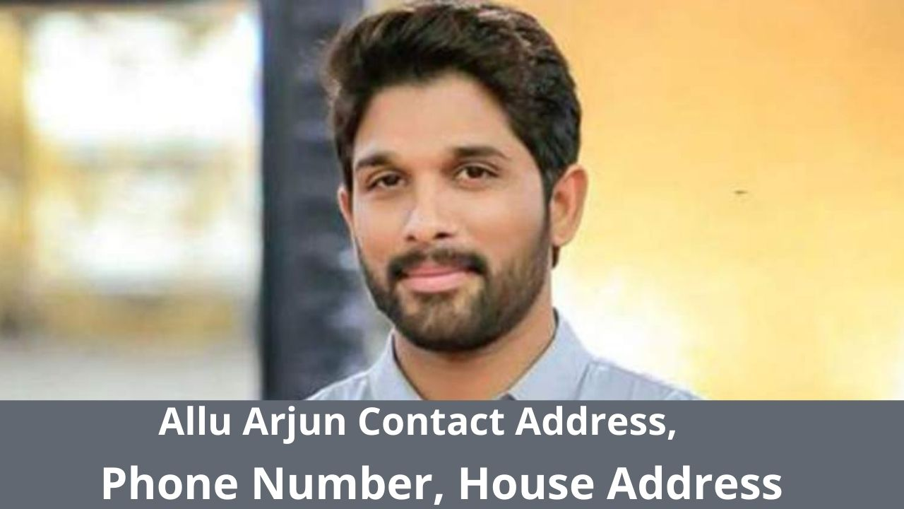 Allu Arjun Contact Address