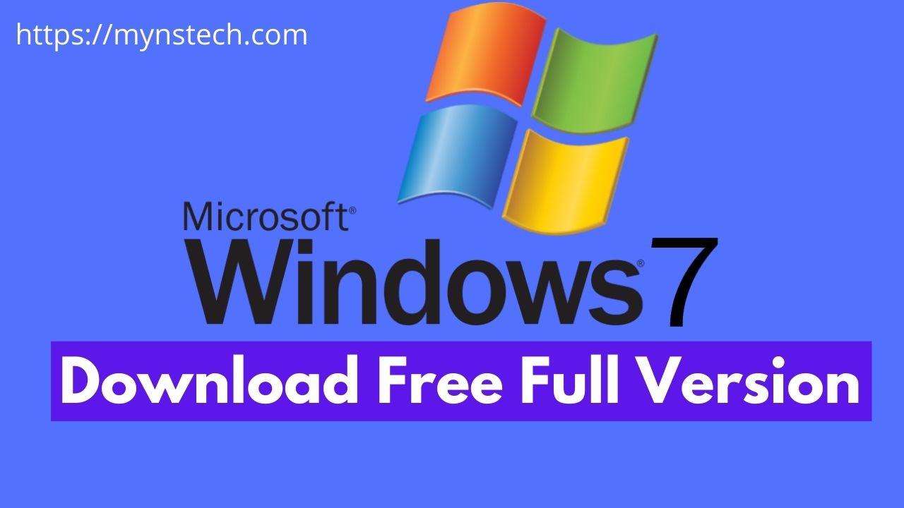 Windows 7 Free Download