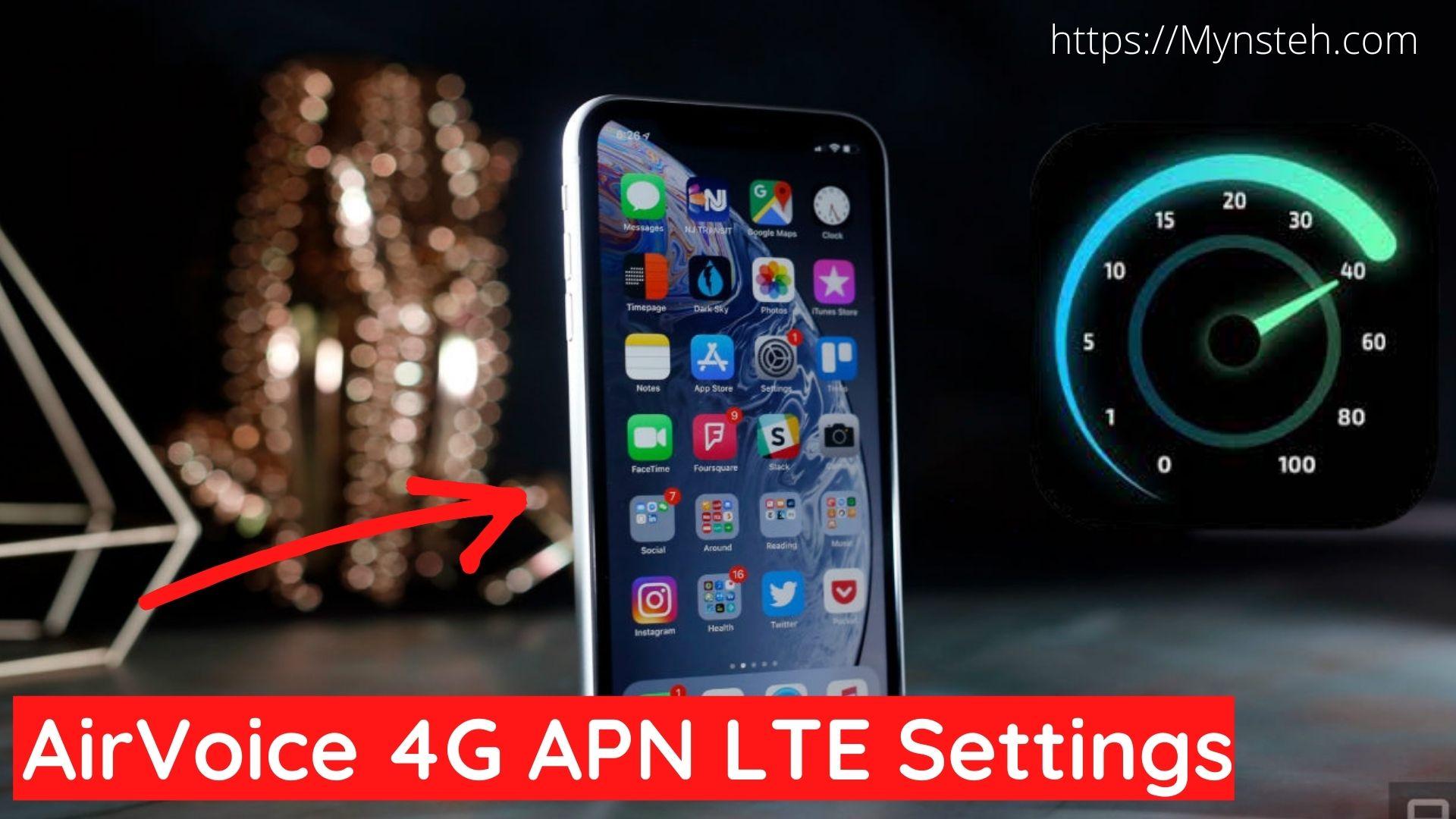 AirVoice 4G APN LTE Settings