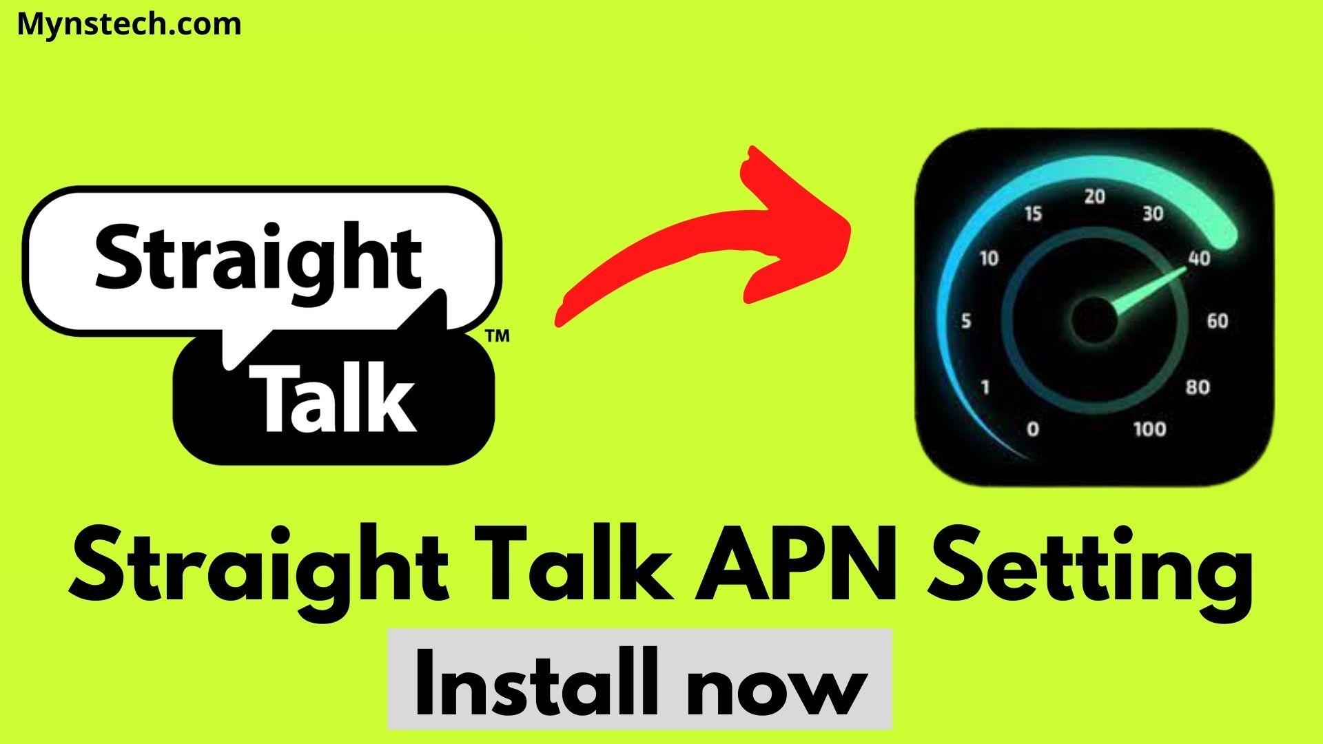 Straight Talk 4G LTE APN Setting