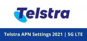 Telstra-APN-Settings