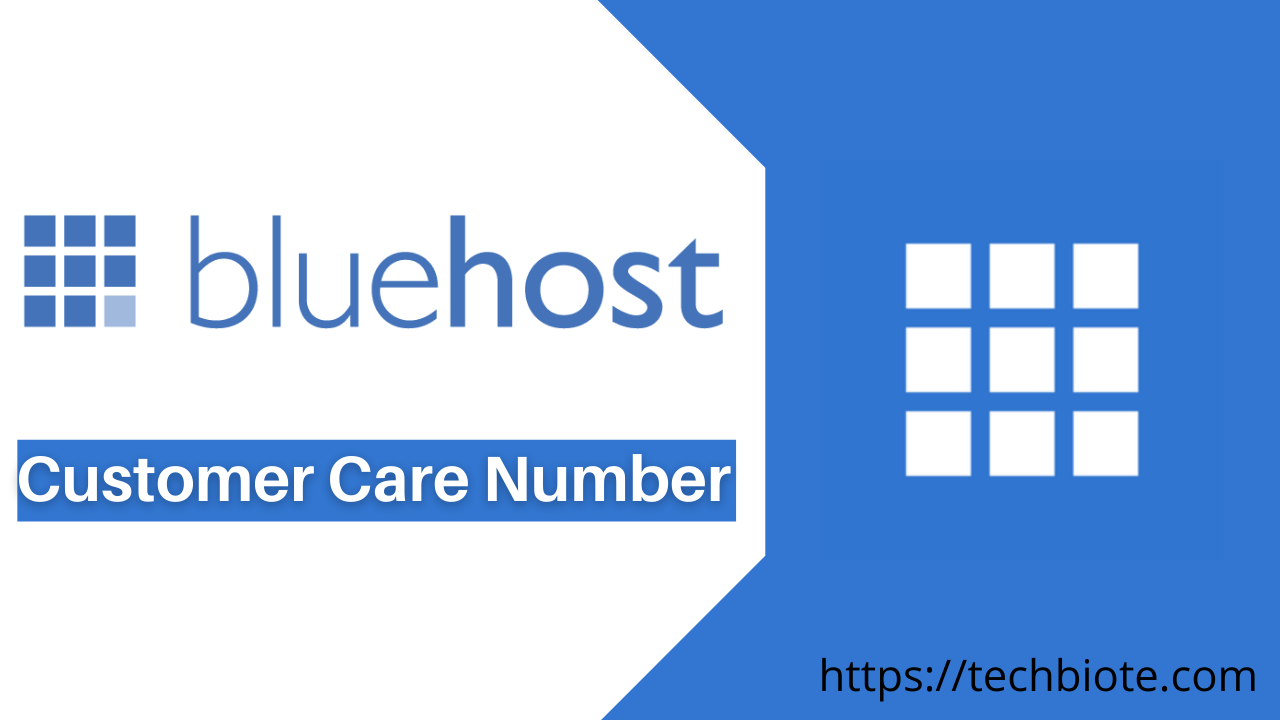 Bluehost Customer Care Number