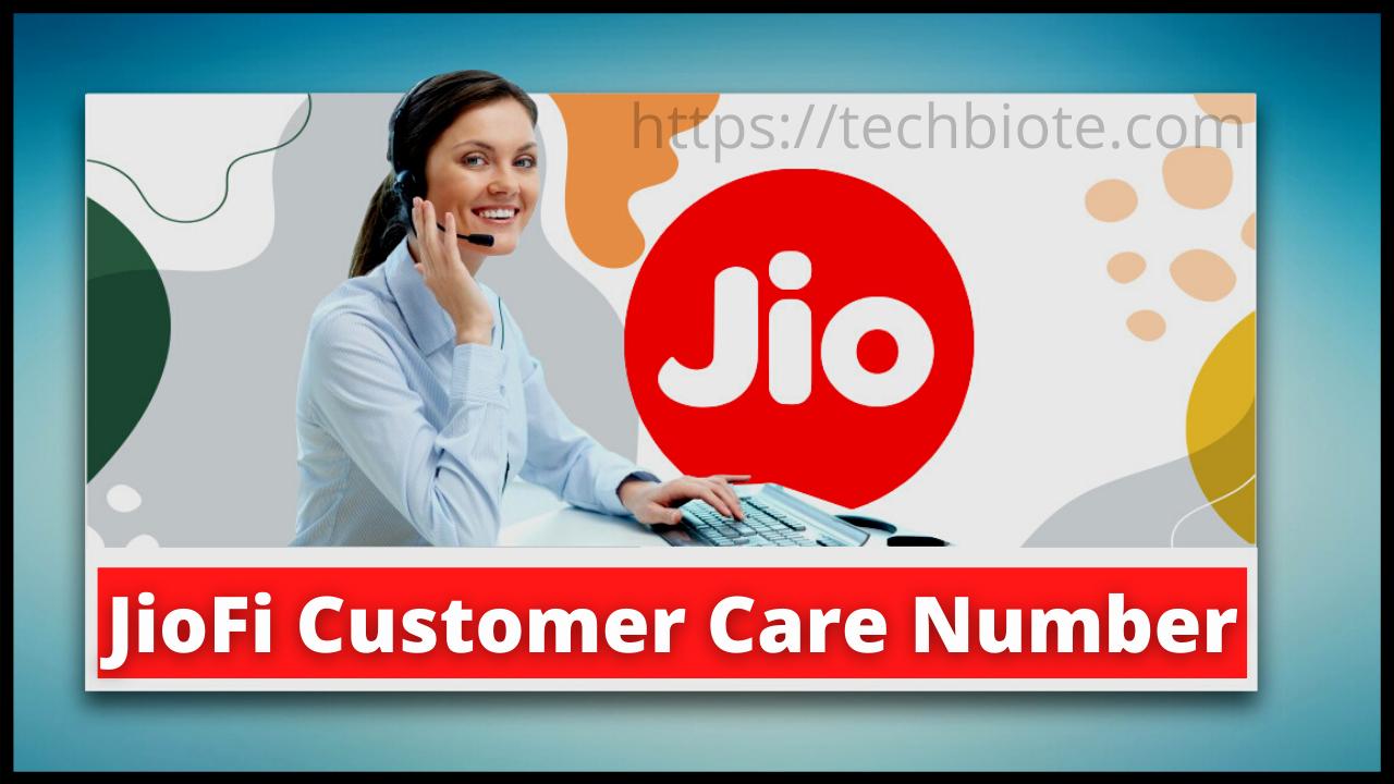 JioFi Customer Care Number