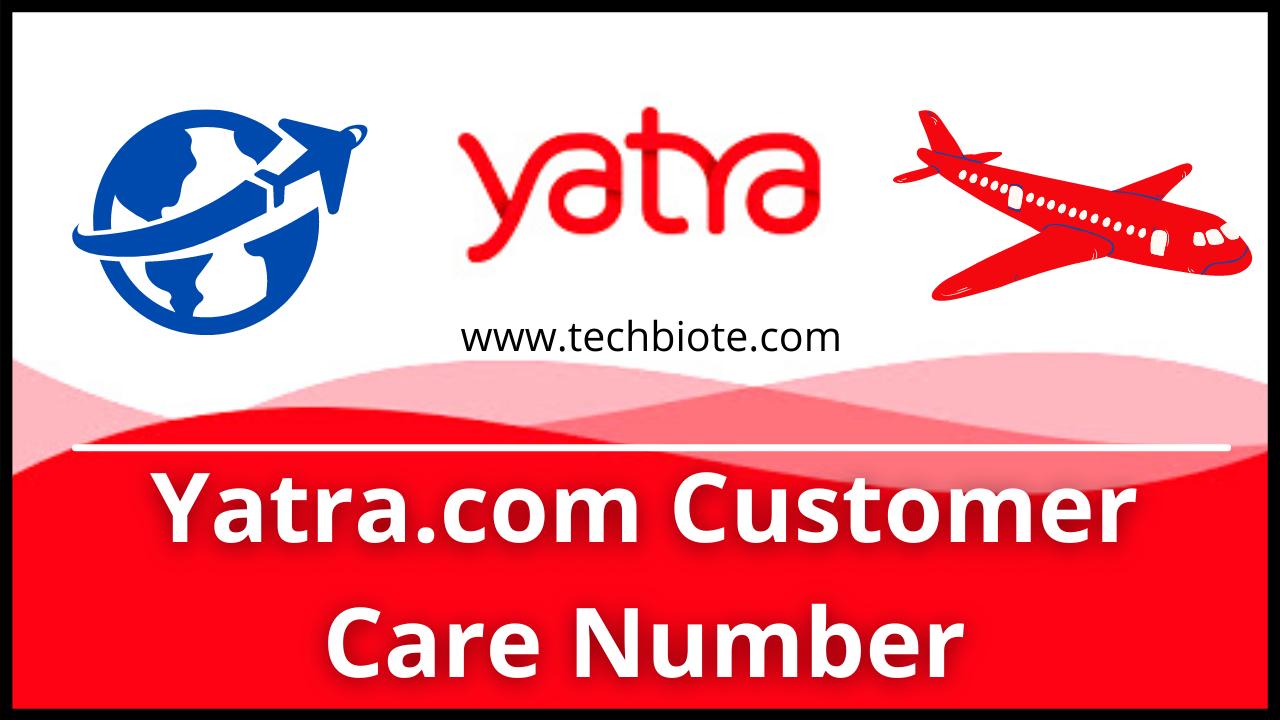 Yatra.com Customer Care Number