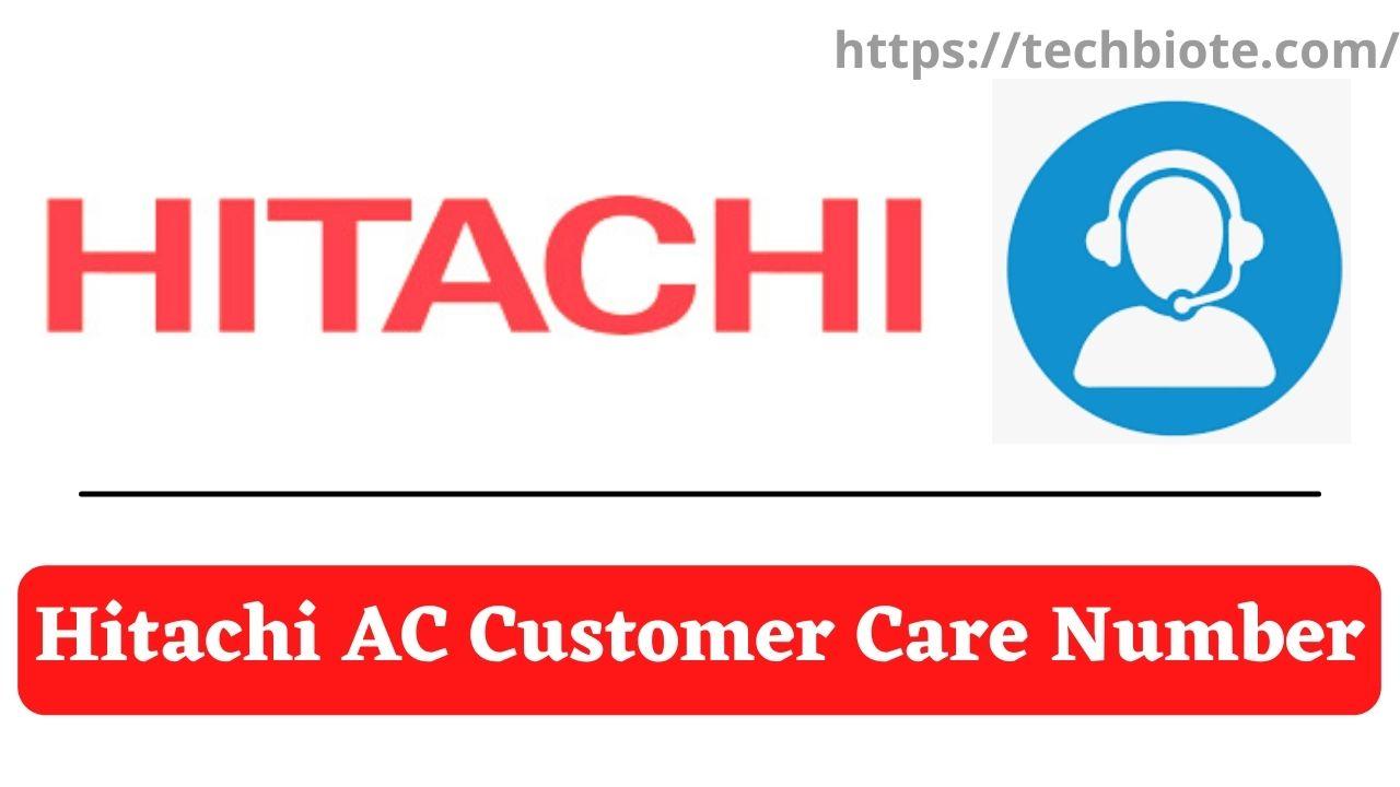 Hitachi AC Customer Care