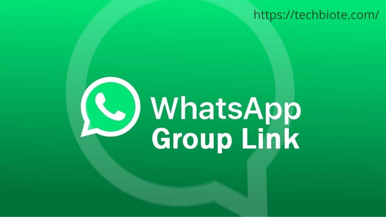 WhatsApp Groups Join Links