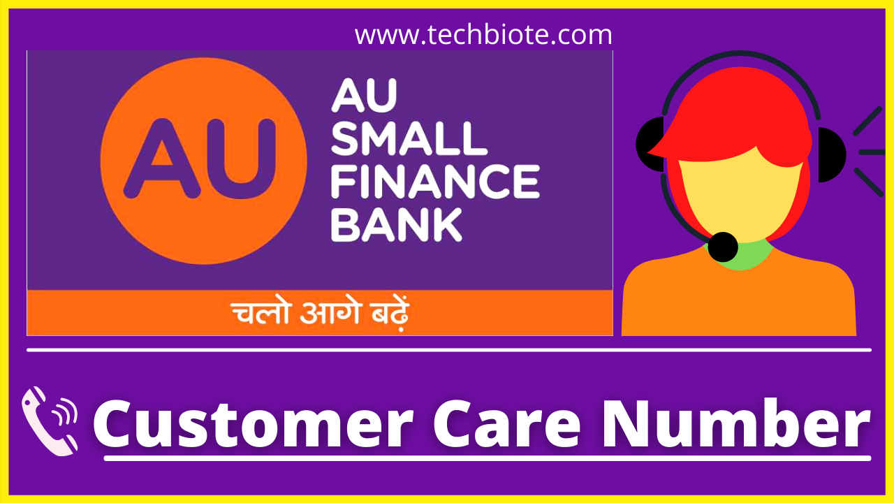 AU Small Finance Bank Customer Care Number