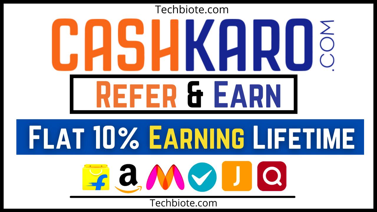 CashKaro Referral Code