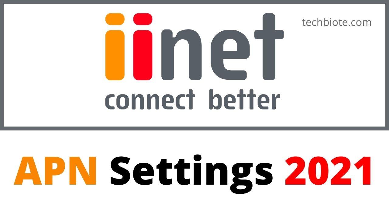 iiNet APN Settings