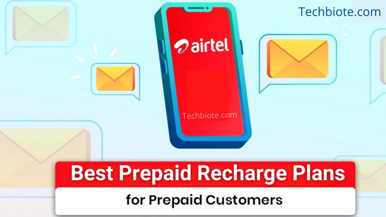 Best Airtel Prepaid Recharge Plans