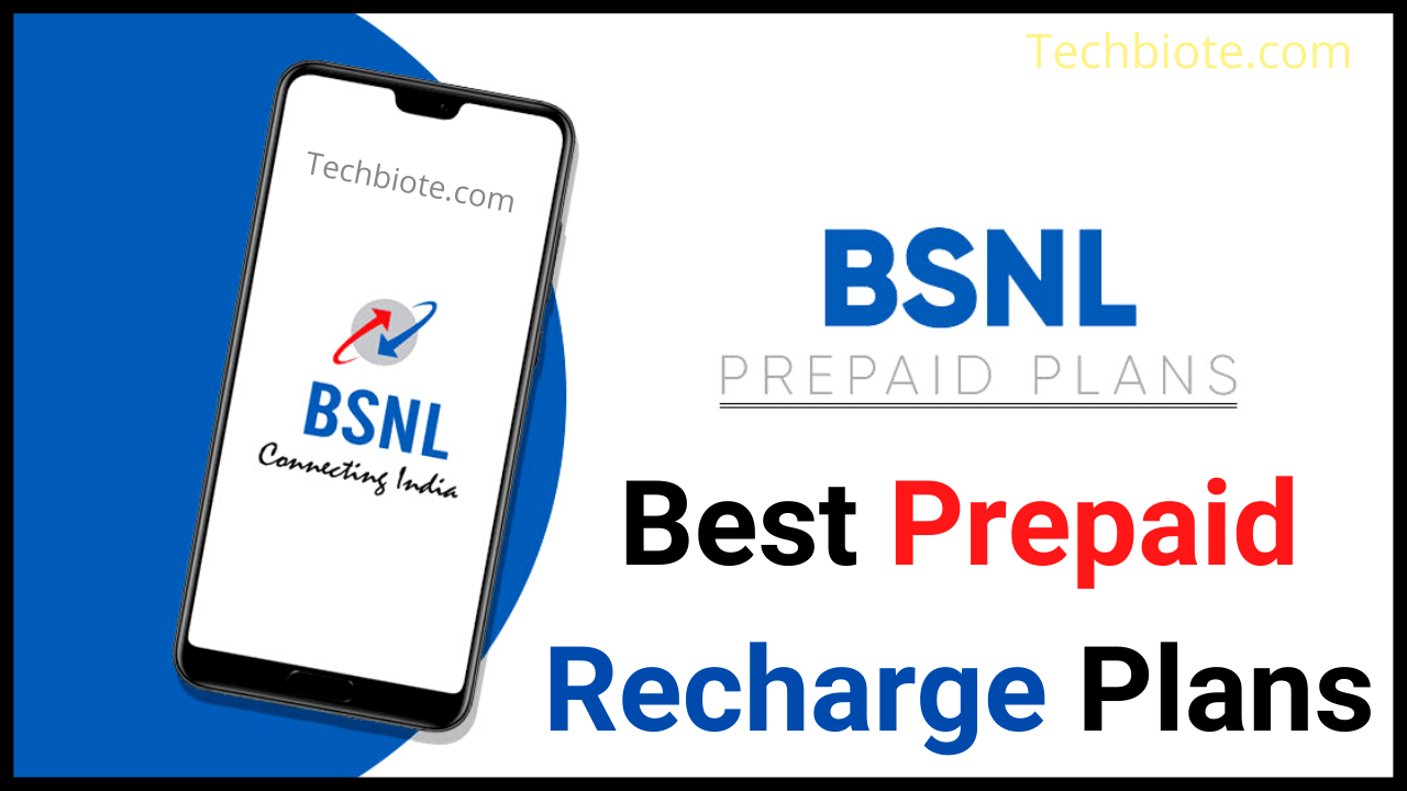 Best BSNL Prepaid Plans
