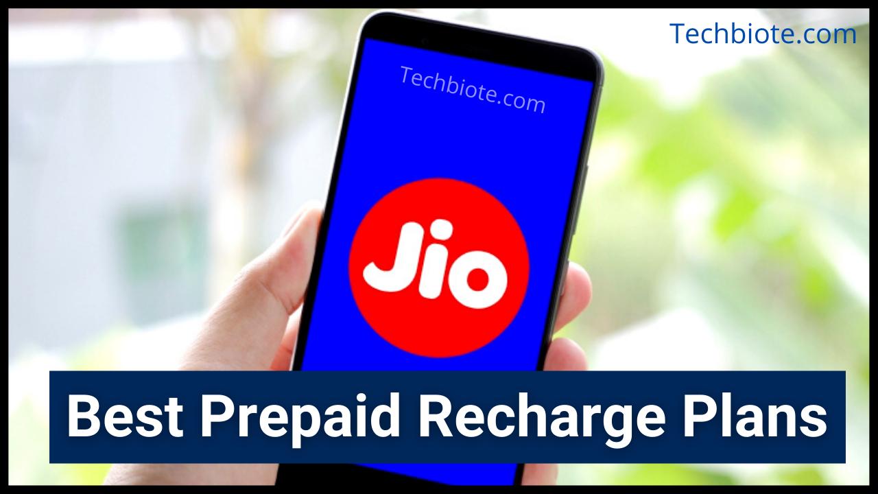 Best Jio Prepaid Recharge Plans