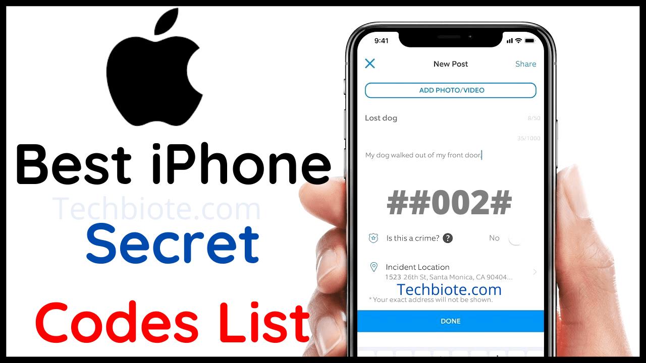 Best iPhone Secret Codes List